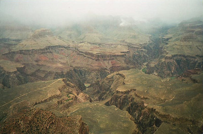 Southern Rim Canyon View