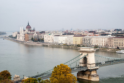Chain Bridge from Buda Palace