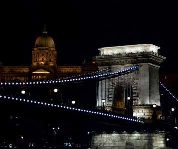 Chain Bridge and Buda Palace - Night Cruise