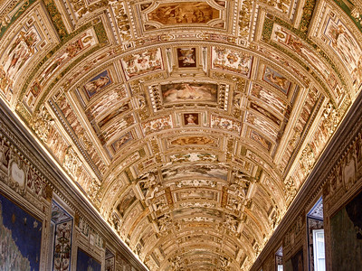 Vatican Museums - Ceiling Art
