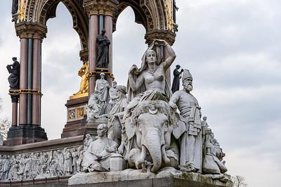 Kensington Gardens, Albert Memorial