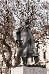 Parliament Square Garden - Winston Churchill
