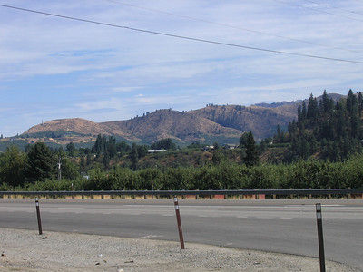 Looking back toward Wenatchee