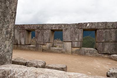 Machu Picchu Temple of the Three Windows