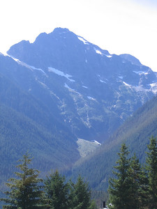 One of the tall cascade peaks surrounding Diablo Lake