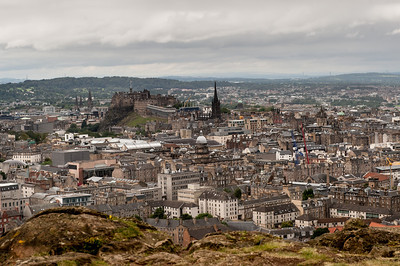 Edinburgh from Holyrood Park