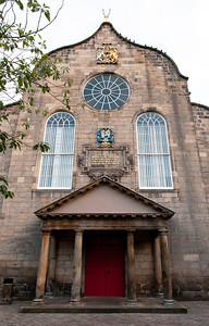 The Royal Mile Canongate Kirk