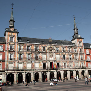 Real Casa de la Panadería (Royal Bakery) in Plaza Mayor