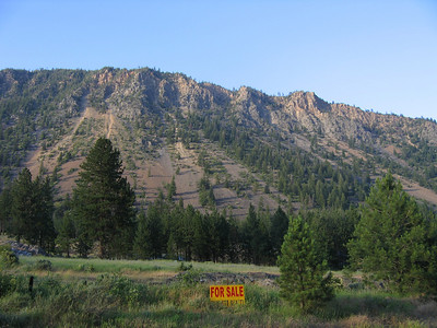 Anyone looking for a good mountain with a pleasant south face. Right across from the river and in pretty good shape for a mountain of its age.