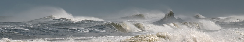 Waves - Flagler Beach - Hurricane Joaquin - IV