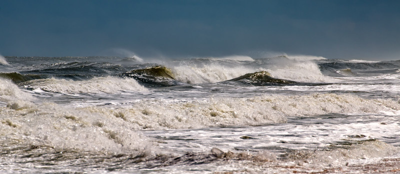Waves - Flagler Beach - Hurricane Joaquin - III