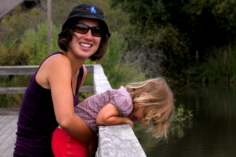 Neary Lagoon, Santa Cruz. July 2009
