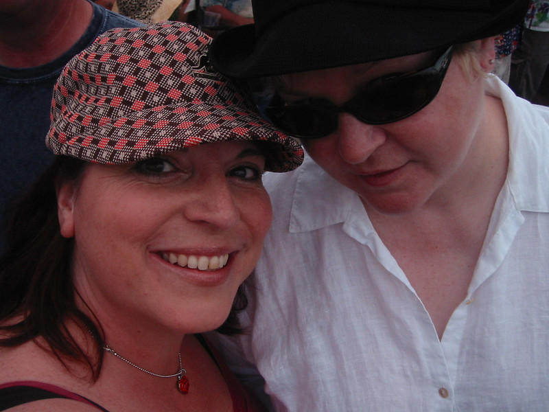 Me and Laura.<br /> New Orleans, 2008
