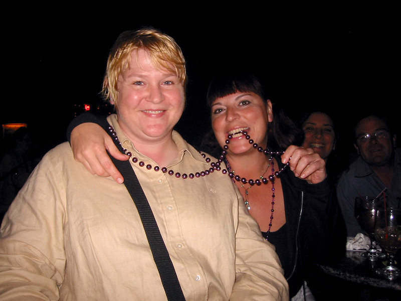 Laura and Me.<br /> New Orleans, April 2005