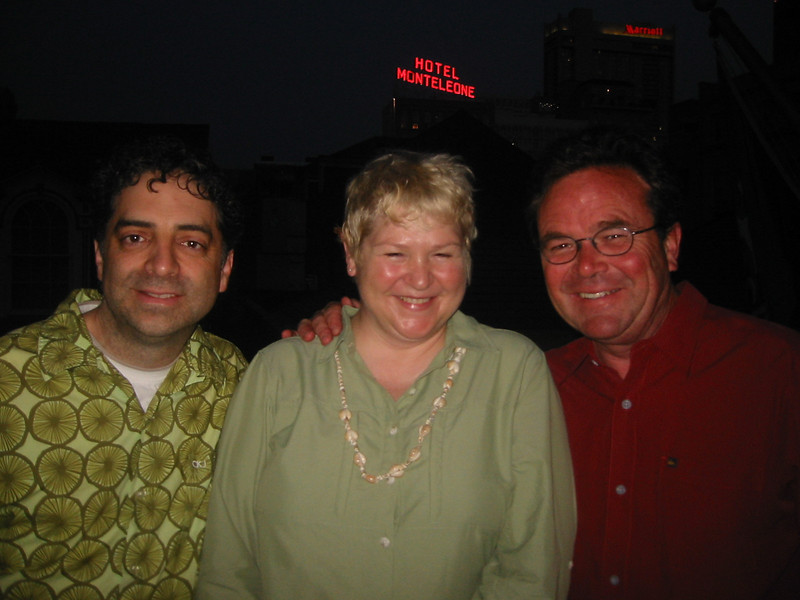 Gary, Laura and Greg.<br /> New Orleans, 2008
