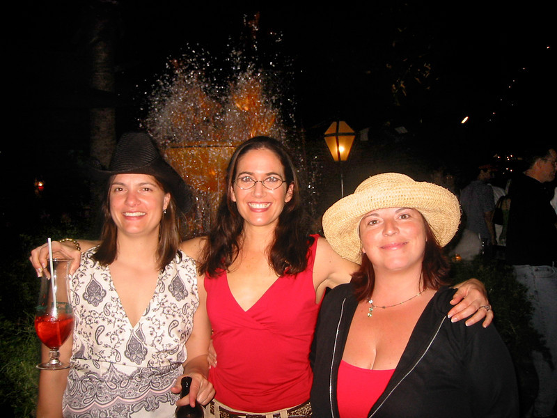 Mary, Michelle and Me.<br /> New Orleans, April 2005