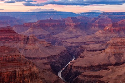 Grand Canyon at Sunset Version 1