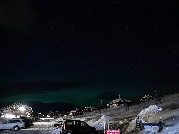 Northern light over Ustaoset