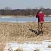 Kelly @ Killdeer Plains Wildlife Area - March 2010