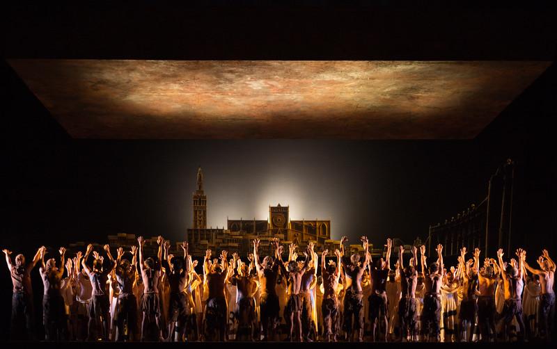 """Leonore Overture No. 3 from the opera """"Fidelio"""" (L.v.Beethoven, 1805). Teatro de la Maestranza, Seville."""