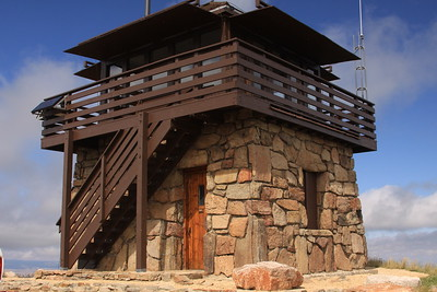 Cement Ridge historic fire lookout, Black Hills National Forest, WY