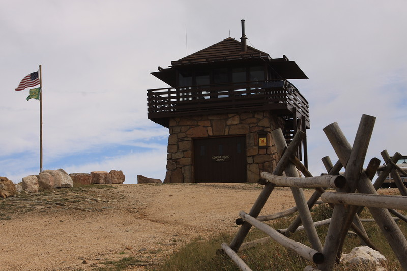 Cement Ridge Fire Lookout, Wyoming
