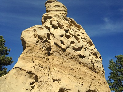 Medicine Rocks sandstone, MT
