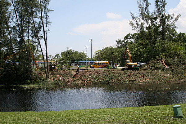 June 16th, 2009 - The Devastation in our Backyard on the Hillsboro Canal