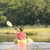 Kayaking on the Jones River