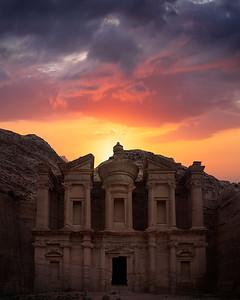 Nabatean Sunset