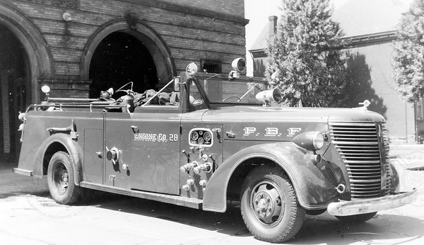 American-LaFrance 1946 675 Pittsburgh PA