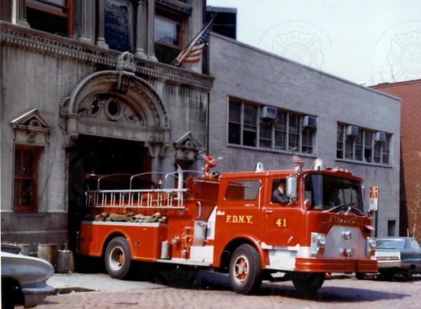 Mack 1970 CF1253 MP 7025, E41 FDNY