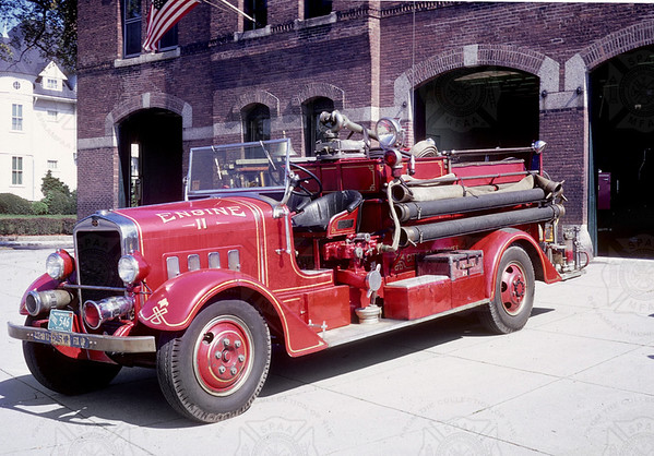Maxim 1933 Pumper, Fall River, MA