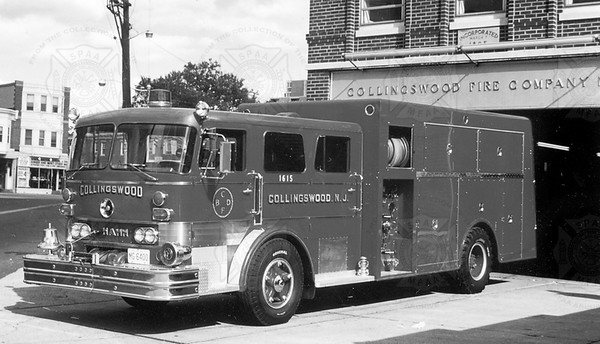 Hahn 1964 rescue pumper Collingswood, New Jersey