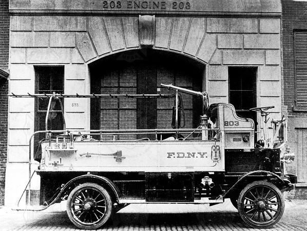 Mack 1912 Boyd FDNY 1912 HP hose wagon