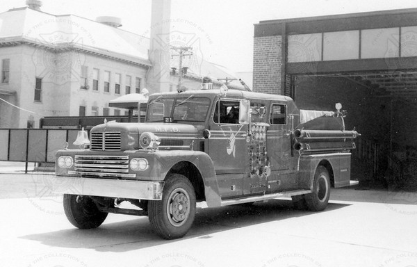 Howe 1960 Duplex Pumper Minneapolis MN