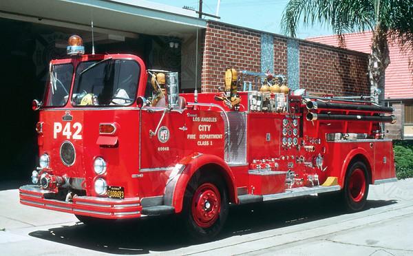 Crown 1961 Los Angeles City P42 F1195