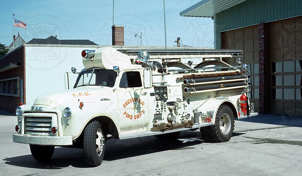 Howe 1948 GMC Greenfield IN 750GPM