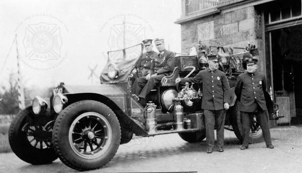 American-LaFrance 1911T5 Swampscott MA Reg 43
