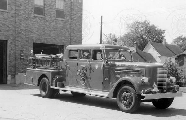 Pirsch 1957 1250 gpm Pumper Minneapolis MN