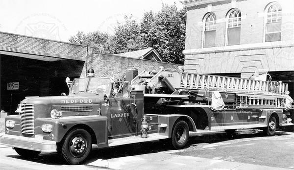 Pirsch 1963 85 ft Medford MA job no 2691 shipped  9-1963. Model 41E