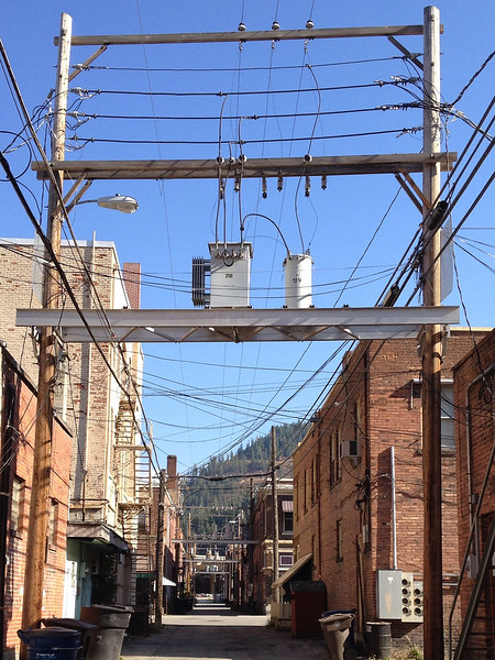Alley, Wallace, Idaho