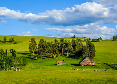 Old Farm, British Columbia