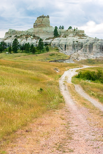 "West of Camp Crook, a gravel road turns in to a two-track trail leading to Capitol Rock<br /> <br /> You can add this image to your collection of wall decor or keepsakes.  Just click the ""buy"" button to browse the selection from canvas wraps to coffee mugs."