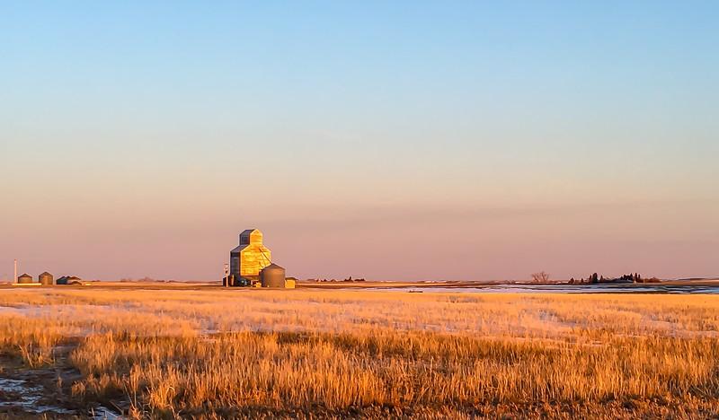 Sunrise on Thelen, North Dakota