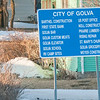golva city sign
