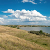 East, Overlooking Lake Sakakawea from the Nux Baa Ga Trail at Indian Hills Resort, North Dakota