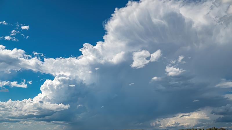Storm Clouds of Summer over Lake Sakakawea, Indian Hills Resort, North Dakota