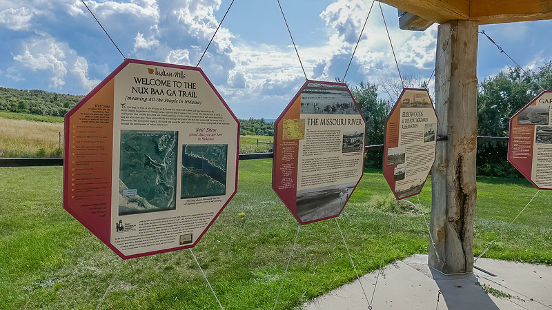 Nux Baa Ga Trail Leads Through the Beautiful Shores of Lake Sakakawea, Ripe in Native American History, Towns and Culture Lost to the Flooding of the Missouri River in 1953, Indian Hills, North Dakota