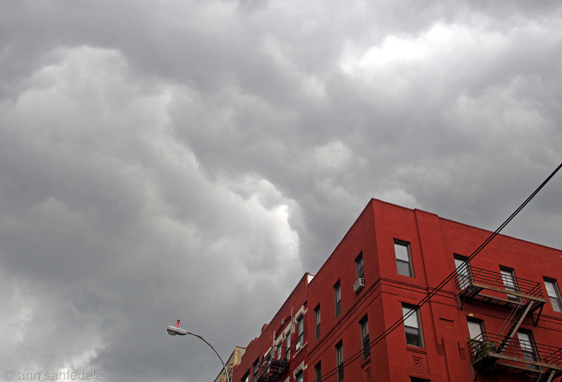 Storm over 2nd avenue